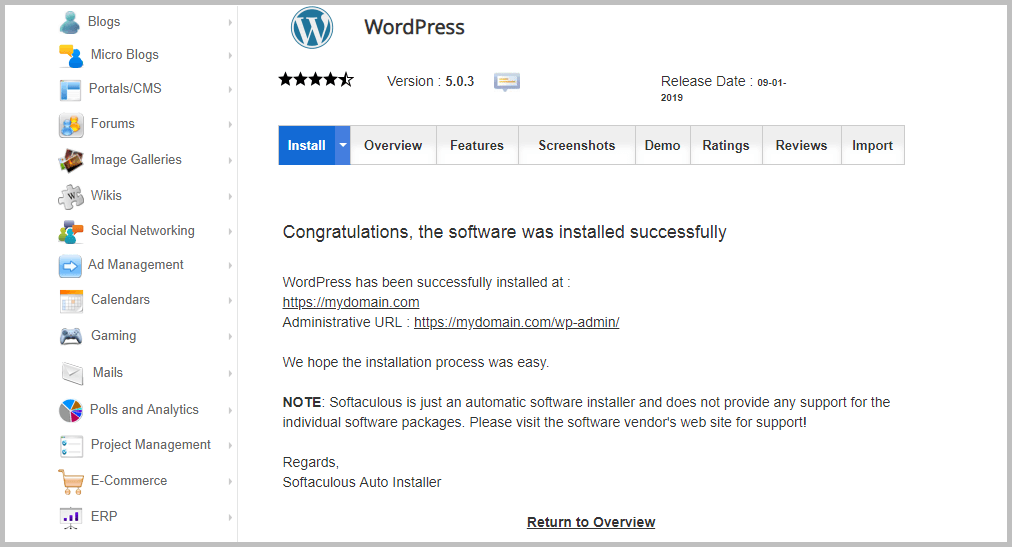 How to Install WordPress in cPanel using any Installer