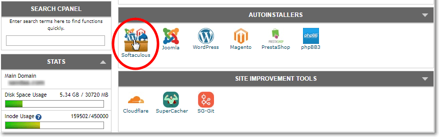 How to Install WordPress using Softacolous