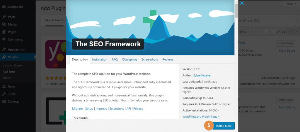 WordPress Plugins More Details Popup