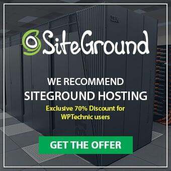 SiteGround Hosting Review Widget Offer Banner