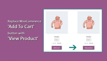 WooCommerce 'Add To Cart' button into 'View Product'