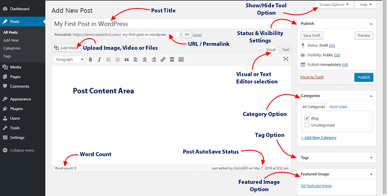 WP Classic Editor Features