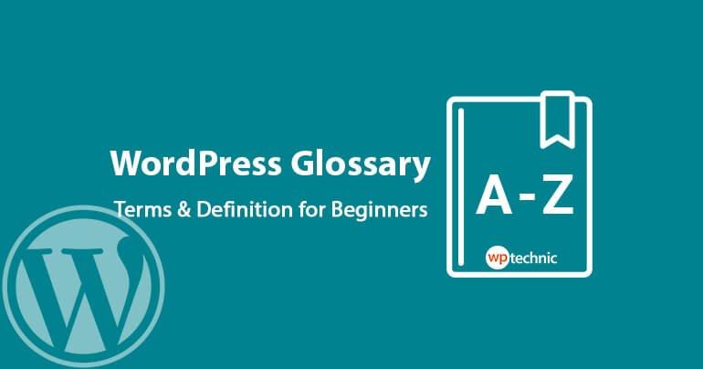 WordPress Glossary